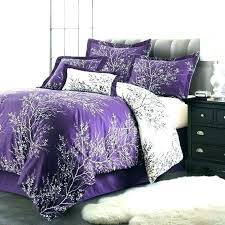black and purple comforter sets queen set grey cotton medium size of