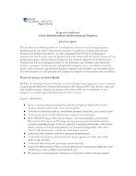 Cover Letter Cover Letter Project Coordinator It Project