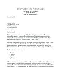 formal business letters templates formal business letter office templates regarding business letter
