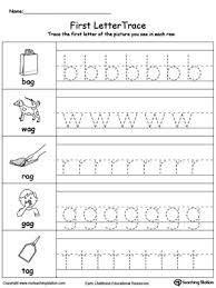 Letter Tracing Templates Lowercase Letter Tracing At Words Myteachingstation Com