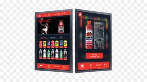 Vending Machine Nutrition Facts Interesting Vending Machines Display Device Touchscreen User Interface