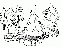 Small Picture Campfire Coloring Pages 397 Free Printable Coloring Pages