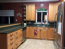 kitchen cabinet makeover before and after painted