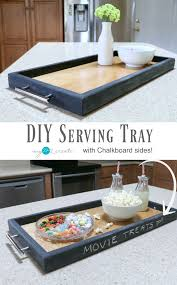 Easy picture tutorial on how to make a DIY Serving Tray out of scrap wood  with