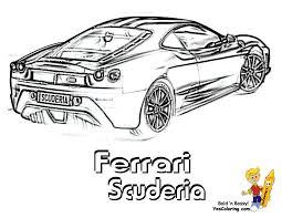 Dessin Ferrari F12 Imprimer