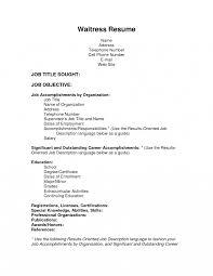 Special Skills On Resume Ihop Resume Toreto Co Winning Server Job Description Waitress 55