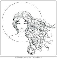 Coloring Pages Hair Coloring Pages Of People Adult Coloring Pages