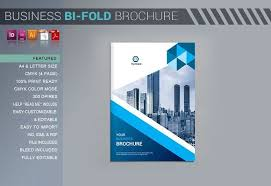 2 folded brochure template company bi fold brochure by artico on graphiczn 2 fold brochure