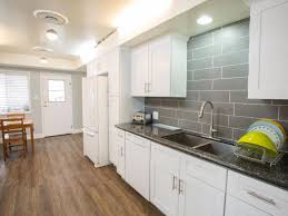 Image From Post Grey Kitchen Countertops With Black White Intended