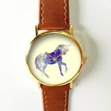 unicorn watch women watches men s watch vintage style leather unicorn watch women watches men s watch vintage style leather watch boyfriend watch