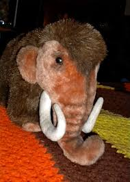woolly mammoth plush toy