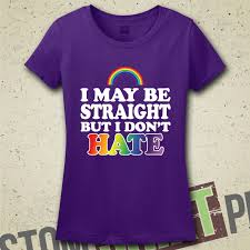 I support gay pride t shirt