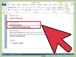 how to create resume in microsoft word how to create a resume in microsoft word with 3 sample resumes
