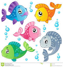 cute fish clip art. Delighful Art Cute Fish Clip Art  Various Fishes Collection 3  Vector Illustration Throughout Cute Fish Clip Art Pinterest