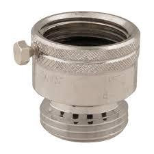 backflow preventer 3 4 garden hose female inlet rated 125 psi for water restaurant equipment solutions