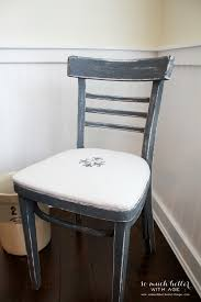 french distressed furniture. French Distressed Chair And Easy Upholstery Tutorial/fleur De Lis - So Much Better With Furniture