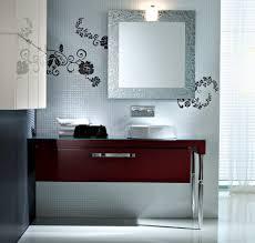 Open Shelf Vanity Bathroom Girly Bathroom Mediterranean With Open Shelves Iron Vanity Lights