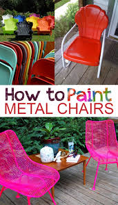 how to paint metal chairs repinned by alvarado paint hardware alvaradopaint