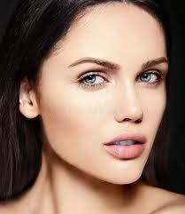 look younger without makeup beauty portrait of sensual model with no makeup clean skin stock photo for high how to look pretty