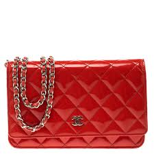 chanel red quilted patent leather woc clutch bag nextprev prevnext