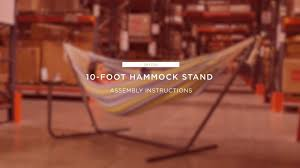 assembly 10 foot hammock stand sky3155 best choice s