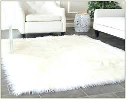 faux sheepskin rugs fur rug uk