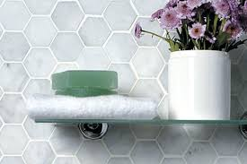 carrara marble hexagon tile blog bianco carrara white marble hexagon mosaic tile honed