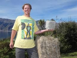 Hemp grower's concrete plans | Central Otago News