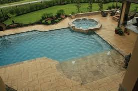 Models Pool Designs With Beach Entry Swimming Interesting Photos On Inspiration