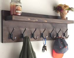 Coat Hanger Racks Rustic Coat Rack Etsy 96