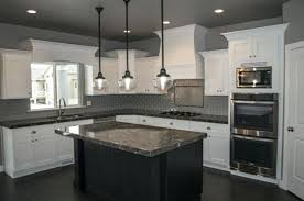hanging pendant lights over island interesting kitchen