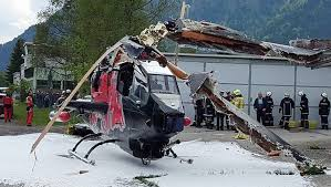 austria view red bull. Red Bull Cobra Helicopter Totalled In Austria View