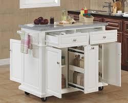 Modern Kitchen Island On Wheels kitchen metal kitchen island on
