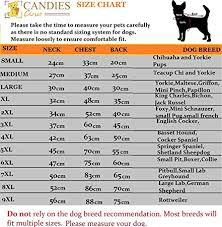 Candies Size Chart Adidog Dog Sweater Hoodie Jacket Size Small 9xl