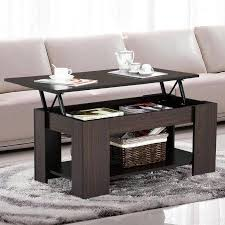 yaheetech lift up top coffee table with