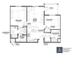 2 bedroom senior apartment