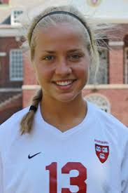 Alicia Johnson - 2012 - Women's Soccer - Harvard University