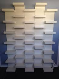 lack wall shelf unit white 11 3 4x74