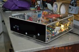 picture of plexiglas computer
