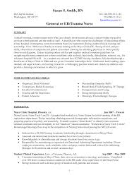 Nursing Student Sample Resume New Nurse Graduate Clinical Experience