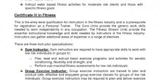 Personal Trainer Resume Sample No Experience Personal Trainer Resume ...