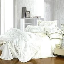 off white comforter king wondrous off white comforter set white jacquard bedding set silver and gold off white comforter king white comforter set