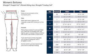 62 Bright Wrangler Aura Jeans Size Chart