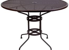 48 patio table mesh inch round bar table with umbrella hole furniture for patio 48 square