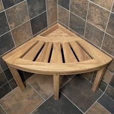 shower bench teak furniture solid teak corner shower seat teak wood shower bench regarding corner teak