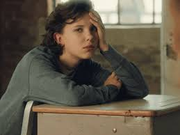 bored millie things stranger school oh my millie eleven class brown boring bobby annoyed