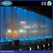 manufacturer direct hight bright fiber optic waterfall light curtain with sparkle fibre cables