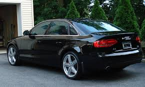 black audi a4. re official b8 tinting thread black audi a4 t