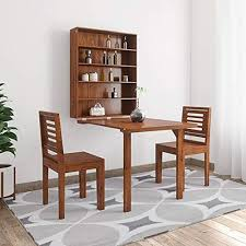 plywood wall mounted dining table