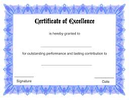 doc certificate of excellence template word certificate blank certificate templates certificate of excellence template word